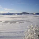 The frozen reservoir