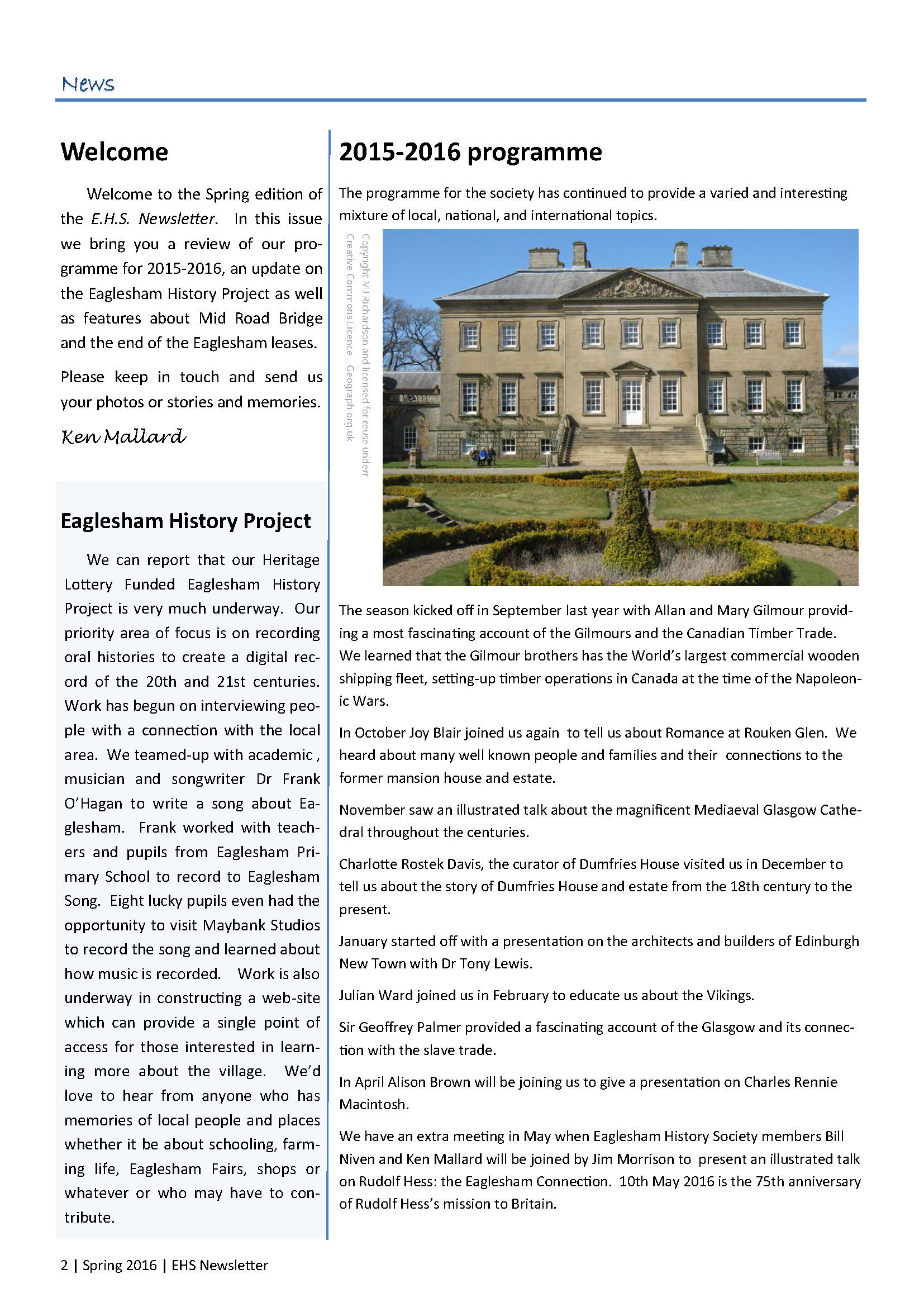 1. EHS Newsletter Spring 2016 full colour_Page_2