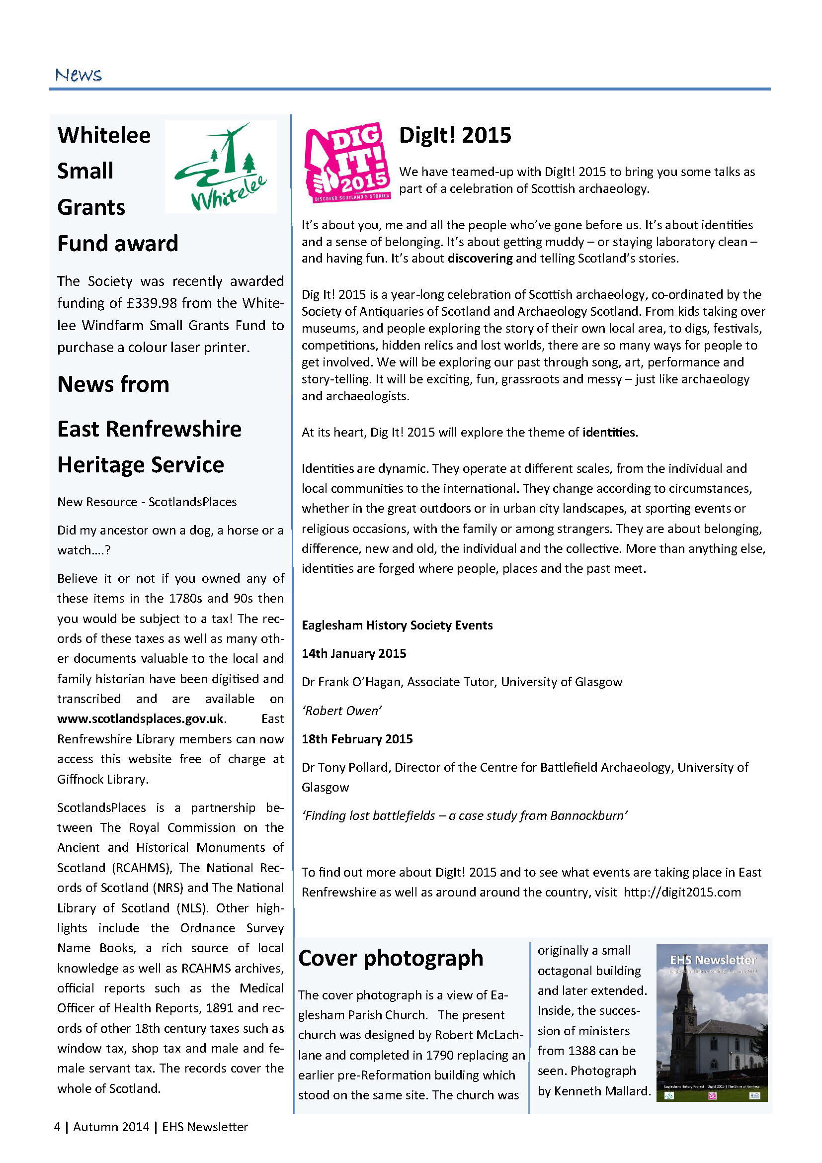 2. EHS Newsletter Autumn 2014 full colour_Page_4