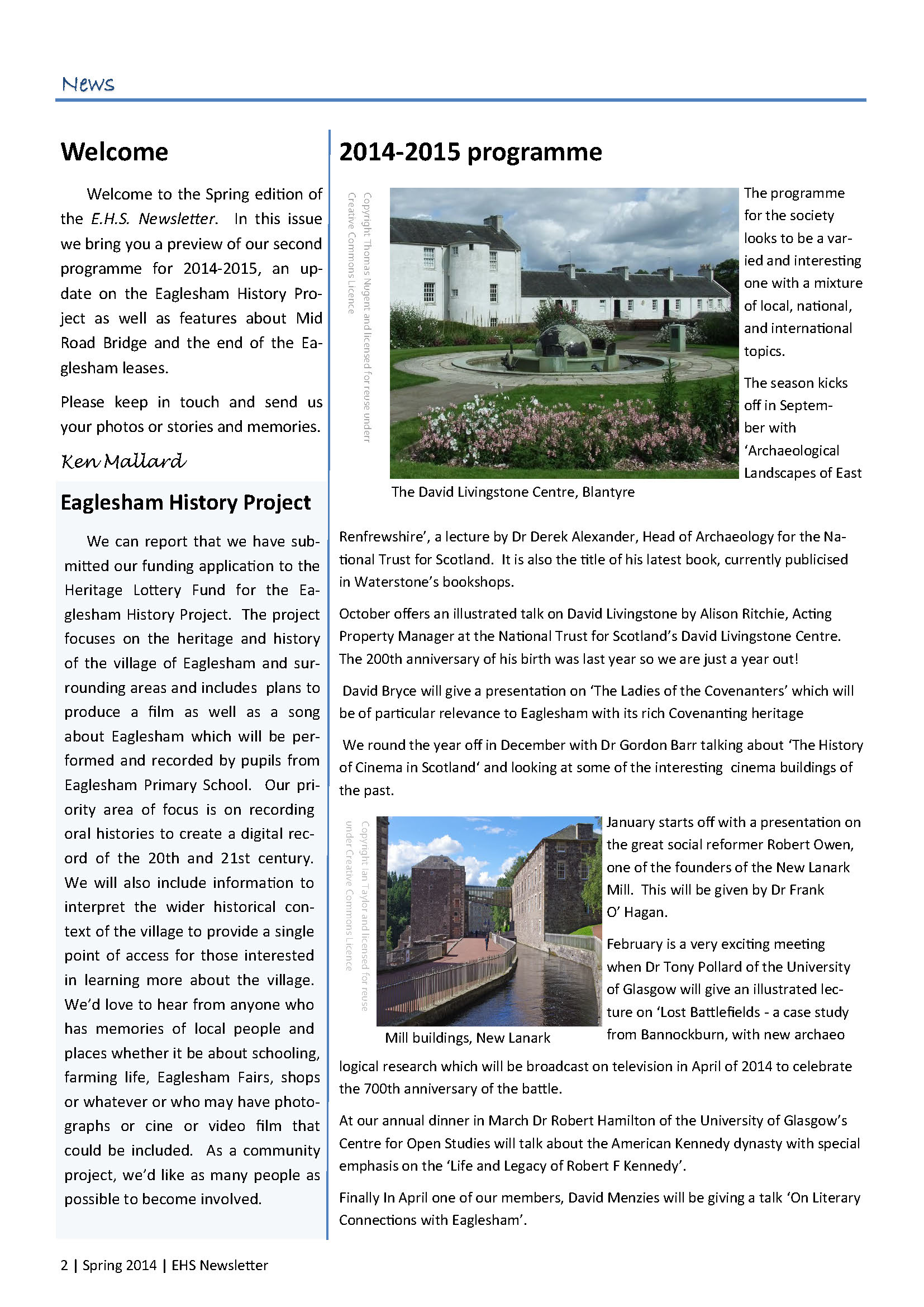 3. EHS Newsletter Spring 2014 full colour_Page_2