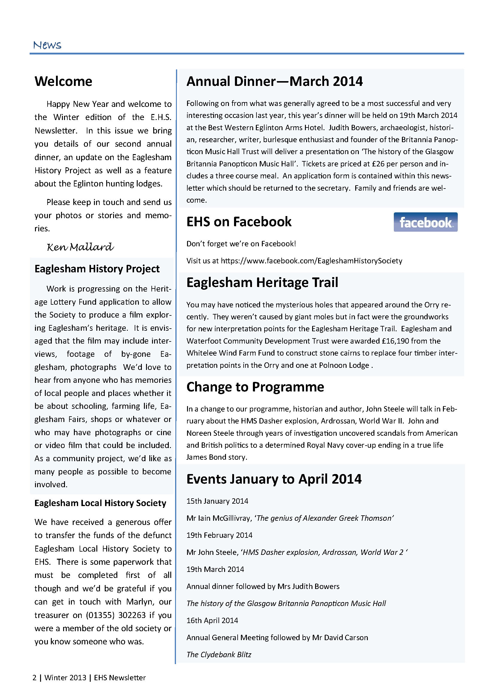 4. EHS Newsletter Winter 2013 full colour_Page_2