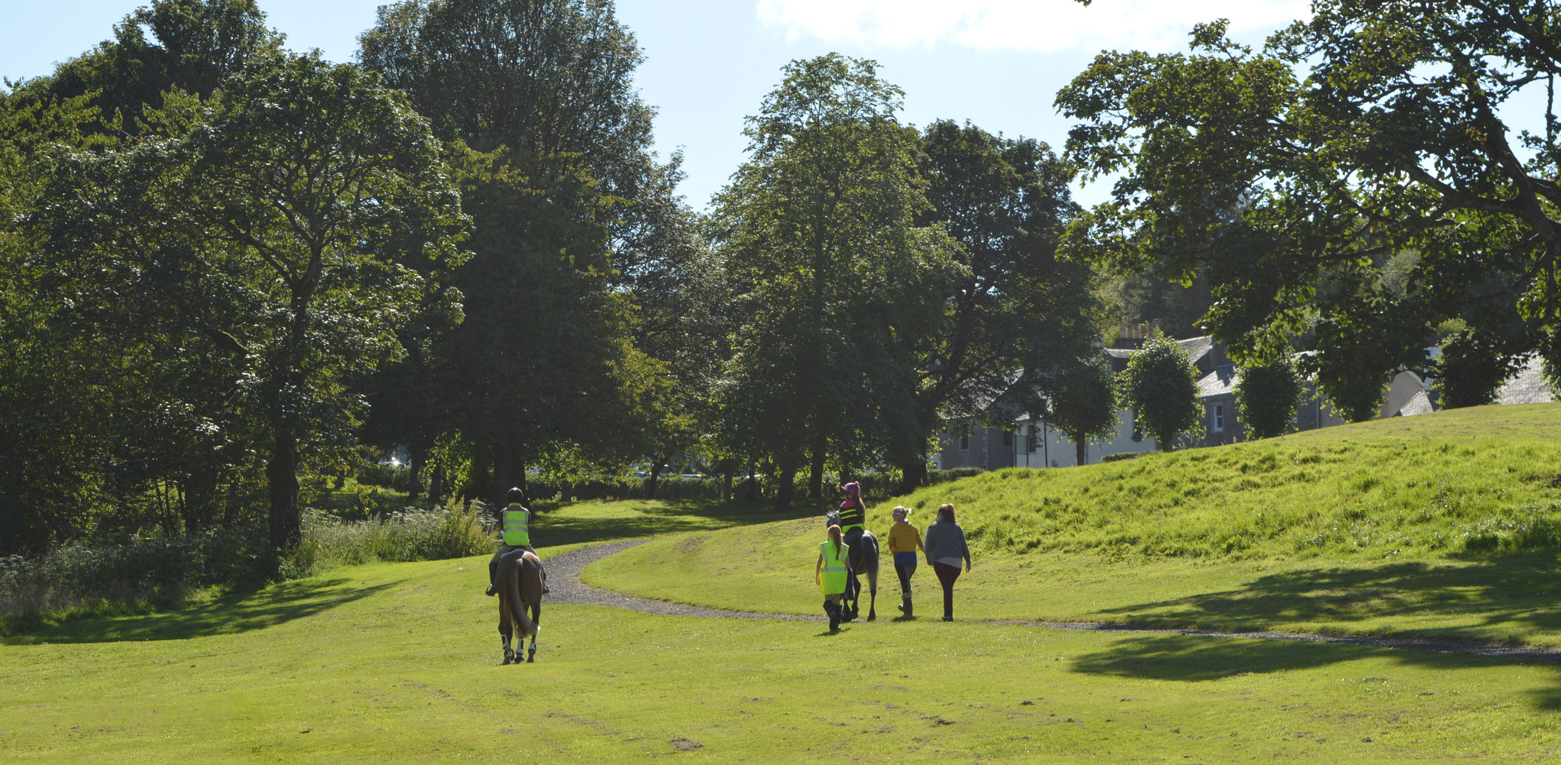 Today, the village Orry is enjoyed by visitors with both two and four legs