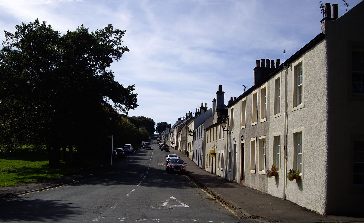 Polnoon Street is a steep climb for cyclists en route to Eaglesham Moor