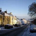 Snow on Polnoon Street