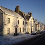 Polnoon Street on a winter morning