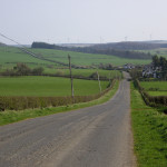 The road to Strathaven