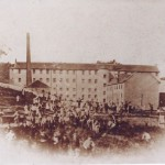 Cotton Mill and workers, c 1890