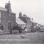 Middle of Polnoon Street, 1921