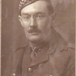 Captain Angus Gilmour, c 1914