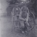 Old tricycle made by Farmer Stewart, c 1900