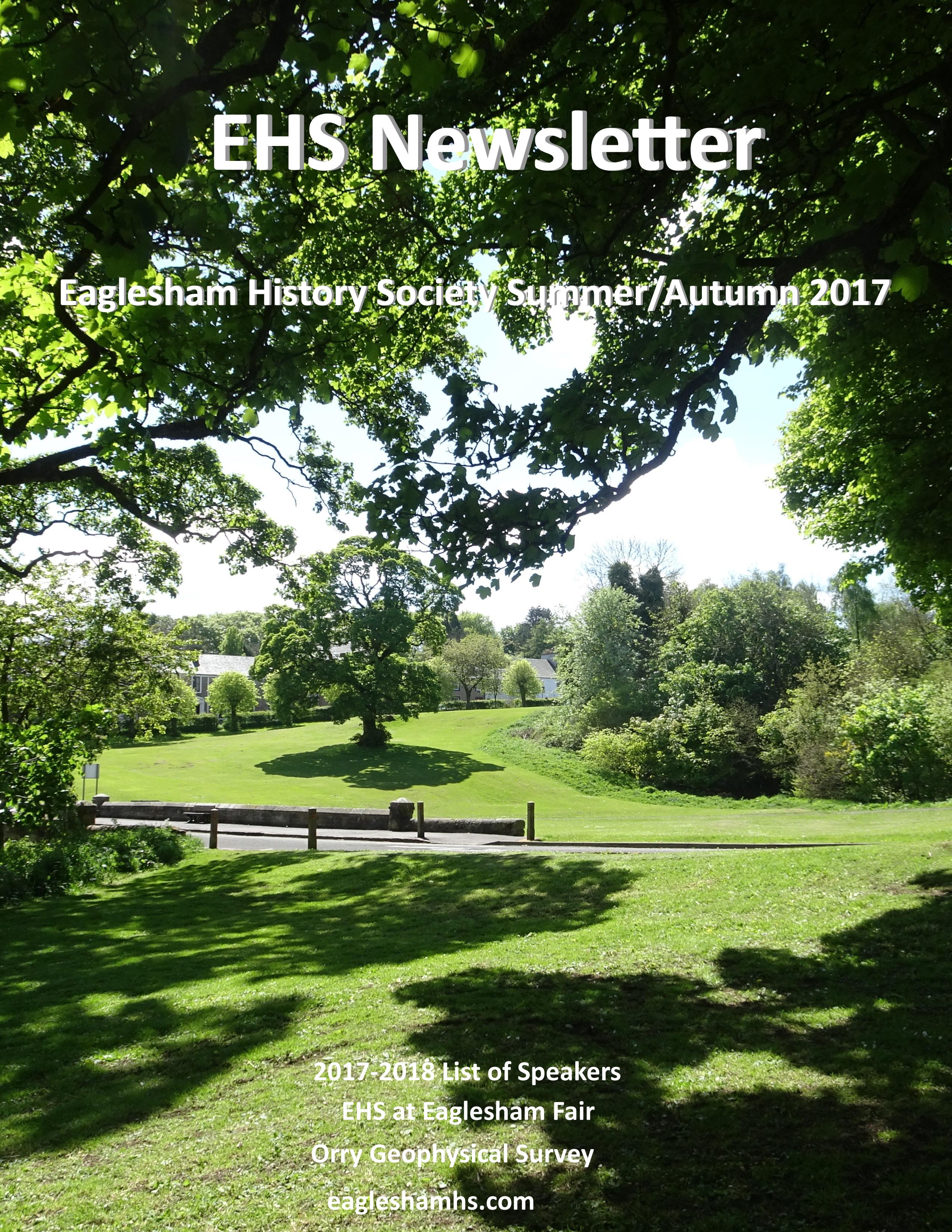 EHS Newsletter Summer Autumn 2017-1