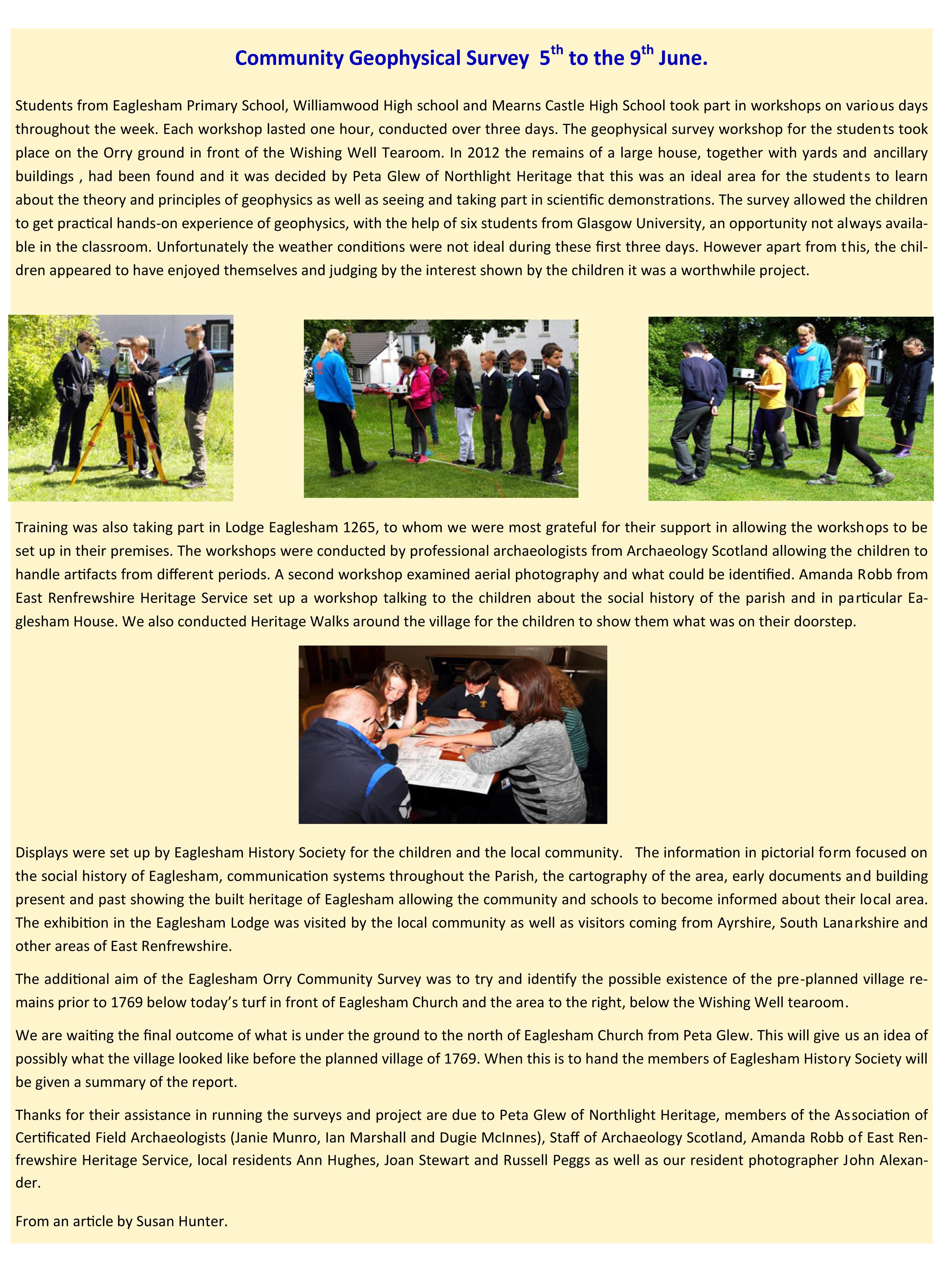EHS Newsletter Summer Autumn 2017-5